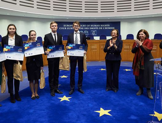 NaUKMA Team Wins 2017 European Human Rights Moot Court Competition