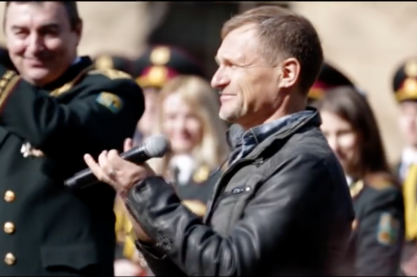 New anthem of the Ukrainian Armed Forces presented at NaUKMA