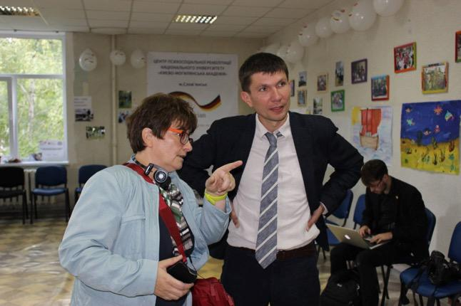 Dr. Serhiy Bogdanov, Director of the Kyiv-Mohyla Centre for Mental Health and Psychosocial Support