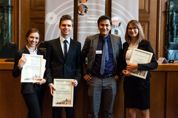NaUKMA School of Law takes second place in Nuremberg Moot Court 2017