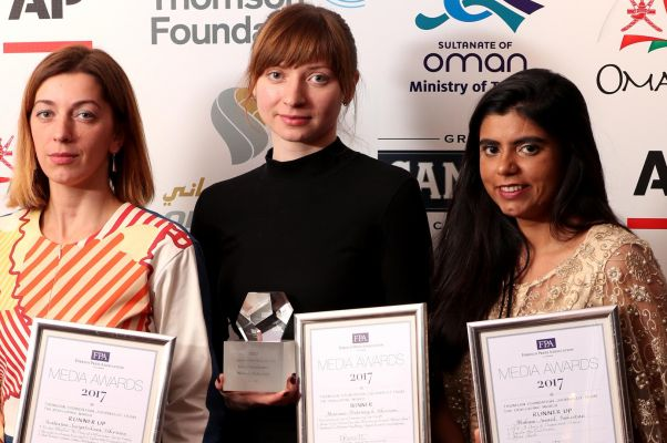 The 2017 Thomson Foundation Young Journalist Award goes to Kyiv-Mohyla graduate