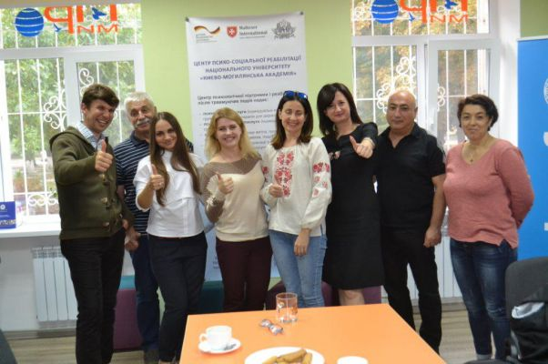 Visiting the Kyiv Mohyla Psychosocial Centers