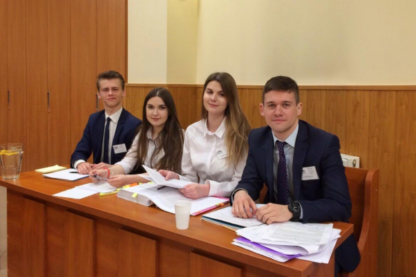 Law students participate in the Central and Eastern European Moot Competition (CEEMC)