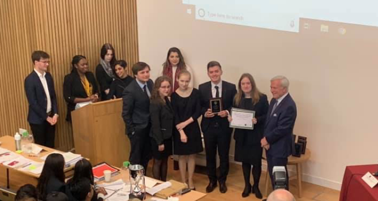 Historical Achievement—The Kyiv-Mohyla Academy Team Takes the Silver Medal at Oxford University
