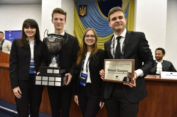 NaUKMA Team Among World's Top-16 in the Jessup Moot Court Competition